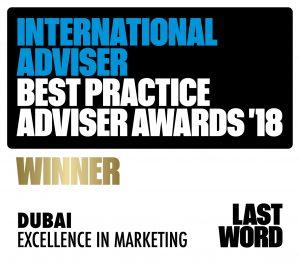 Best Practice Adviser Awards 2018 Winner