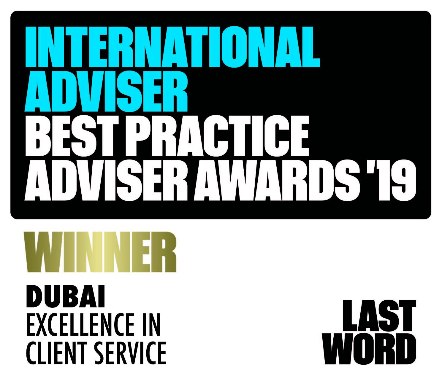 Best Financial Advisors Dubai Winner